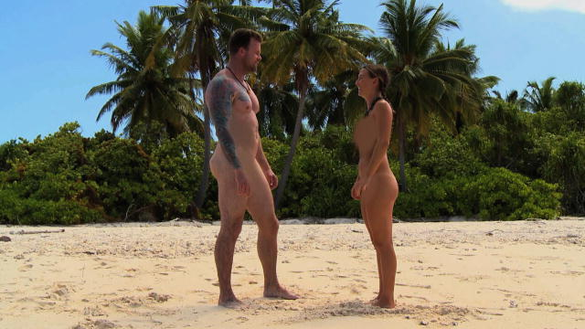 naked and afraid island nudity