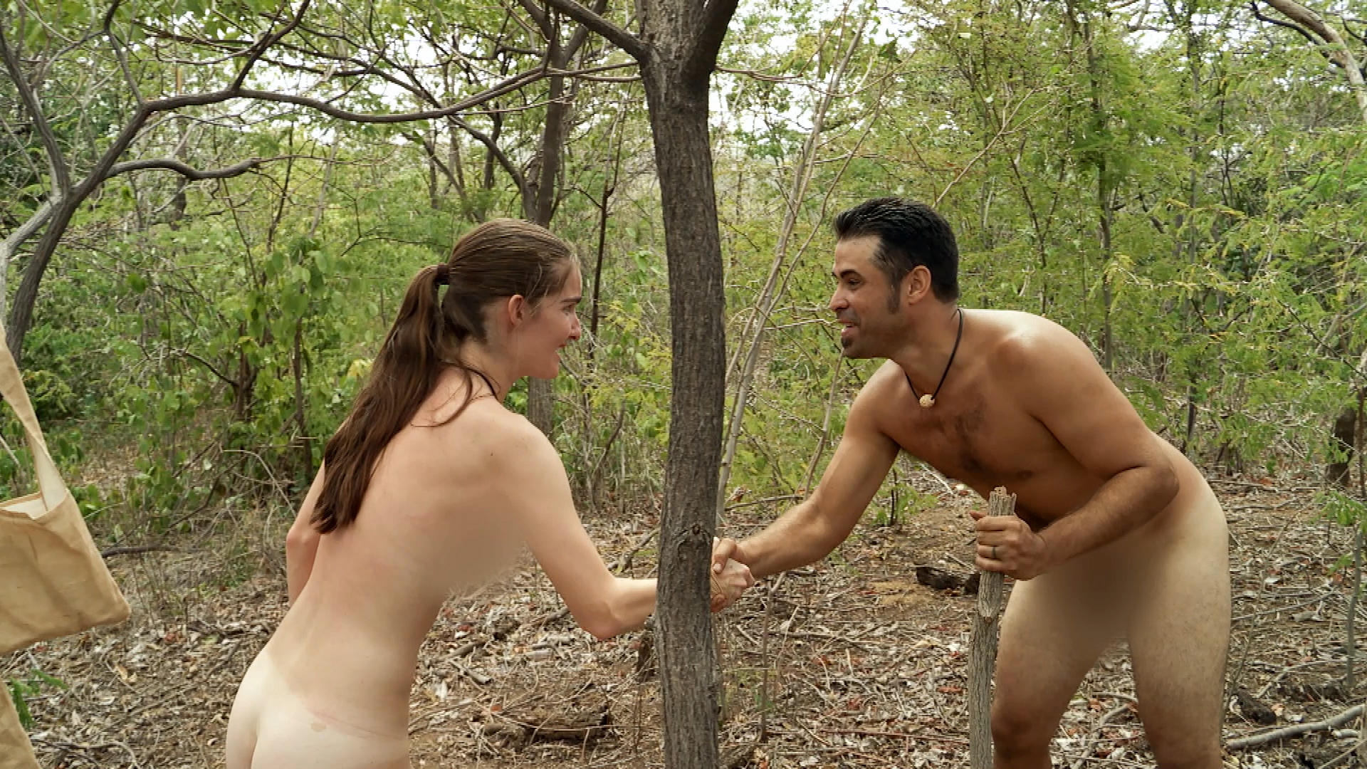 naked and afraid sex scene