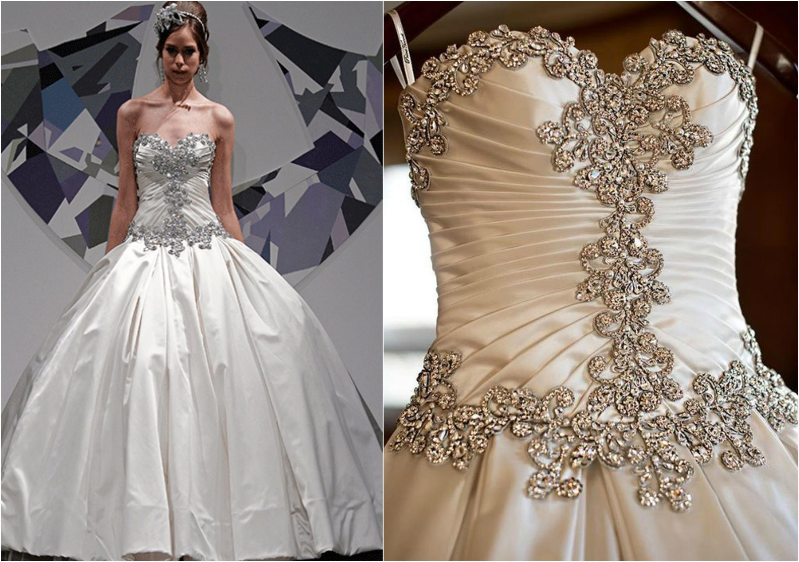 Pnina Tornai S 10 Most Blinged Out Gowns Tlcme Tlc