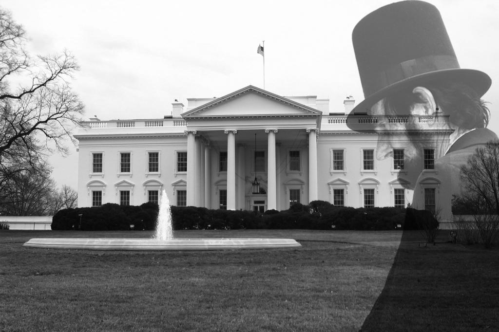 Image result for haunted white house