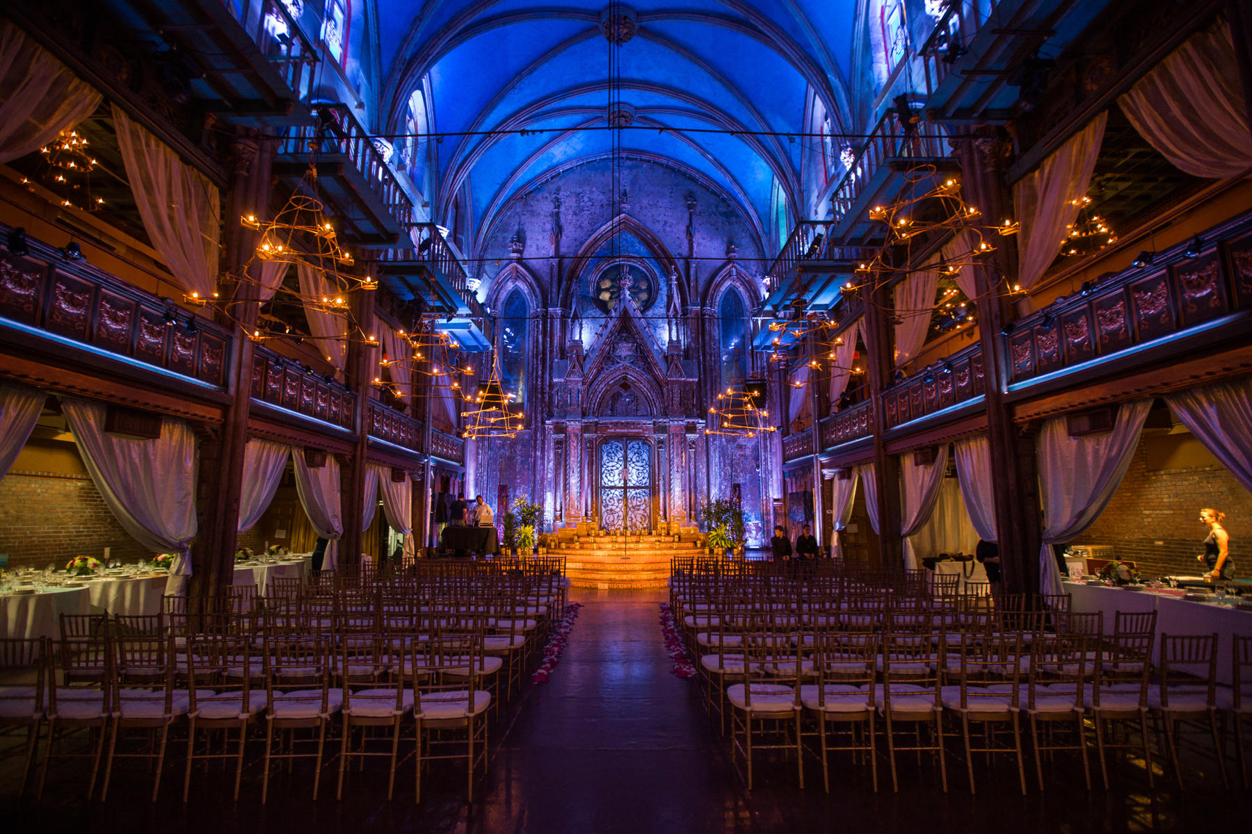 Andrea And Patrick S Wedding Took Place At The Angel Orensanz Foundation For Contemporary Art In