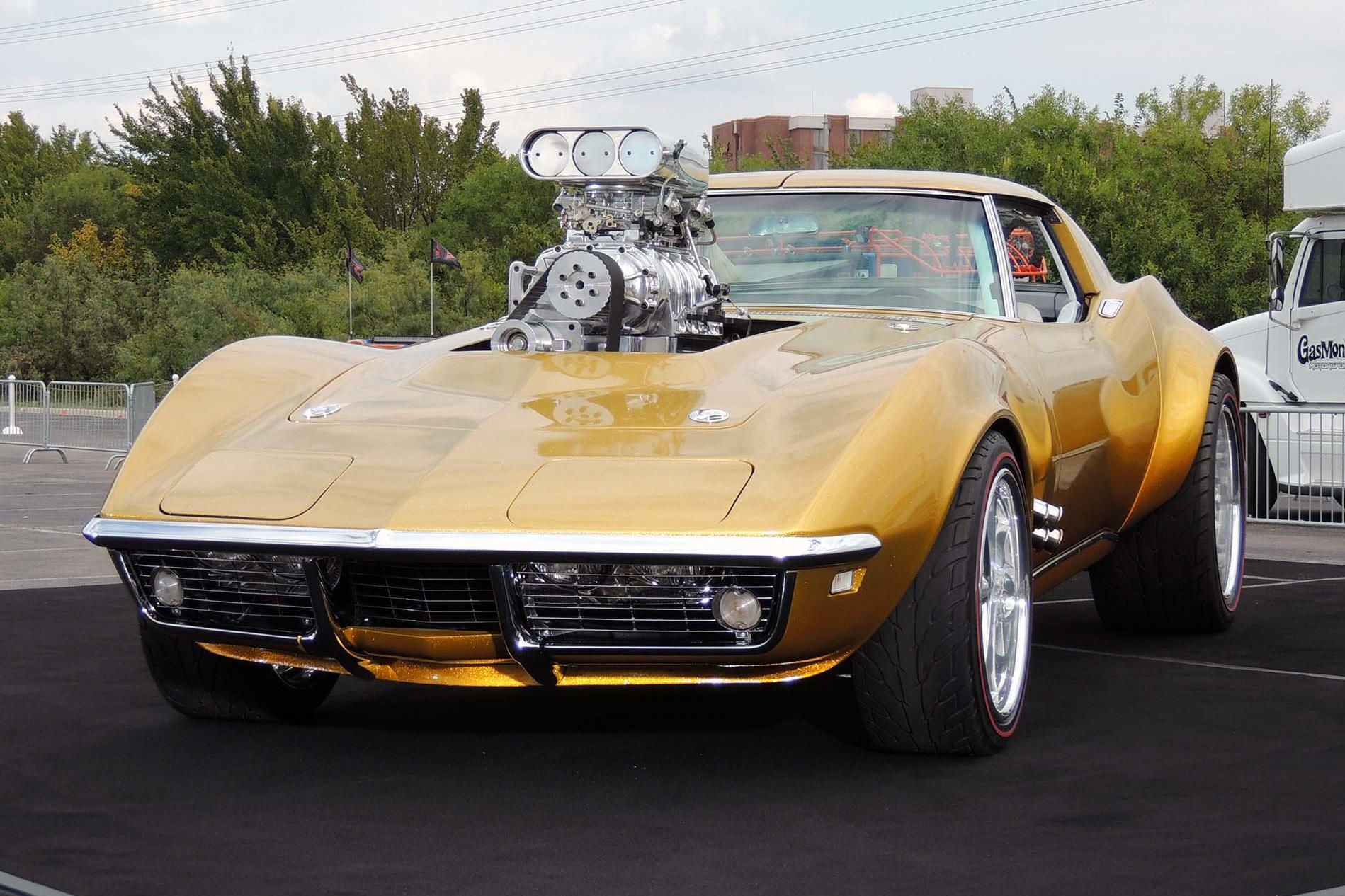 1968 Corvette: All New Custom Designed By Gas Monkey ...
