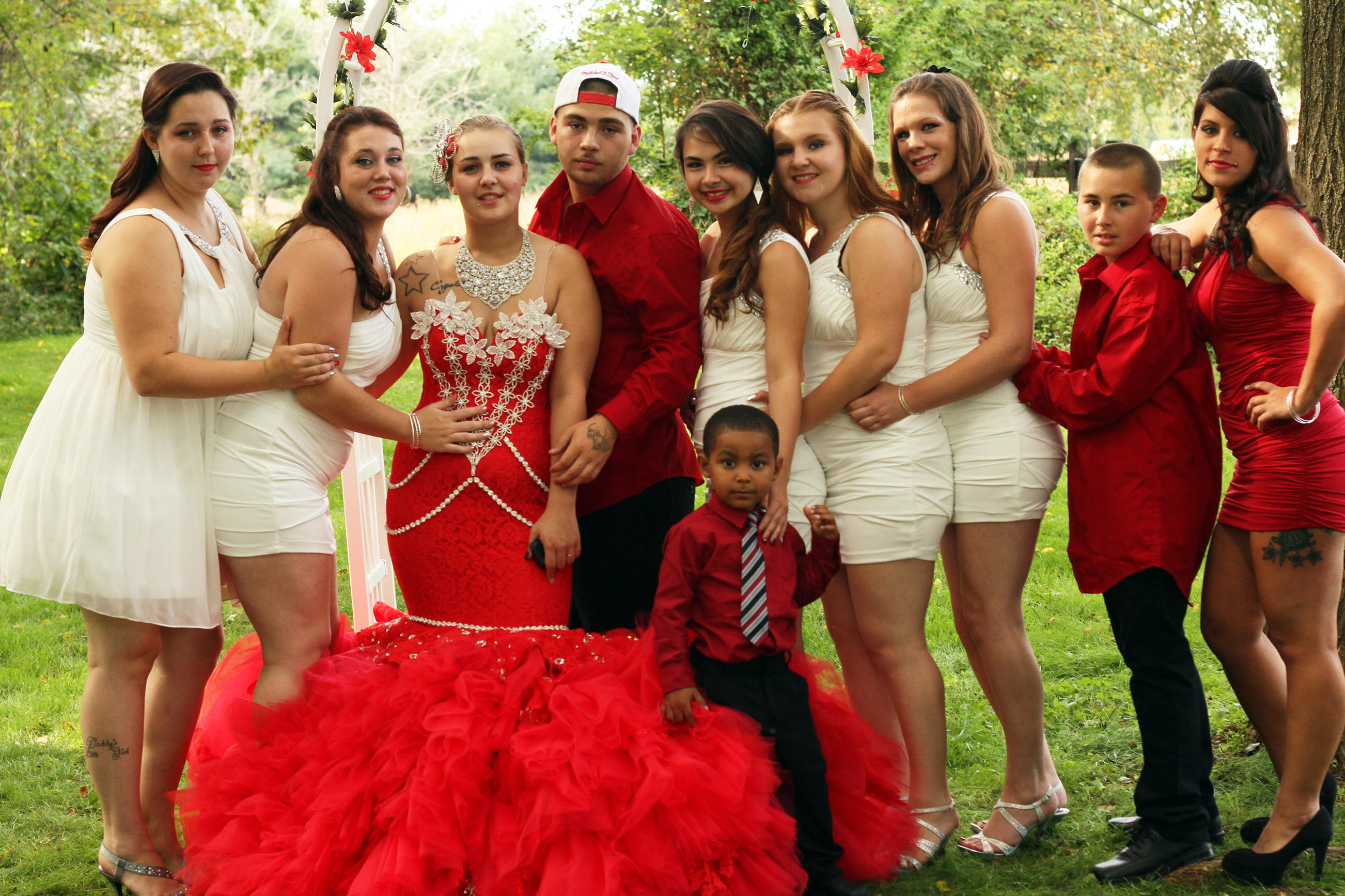 Gorger Gypsy Baptism And Arranged Marriage Dresses My Big Fat